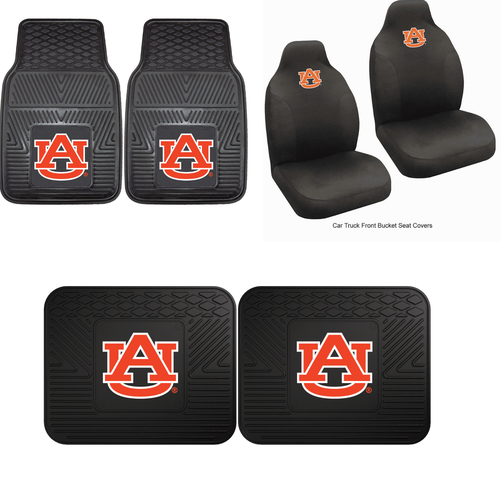 Auburn Tigers Car Accessories, Car Mats & Seat Covers
