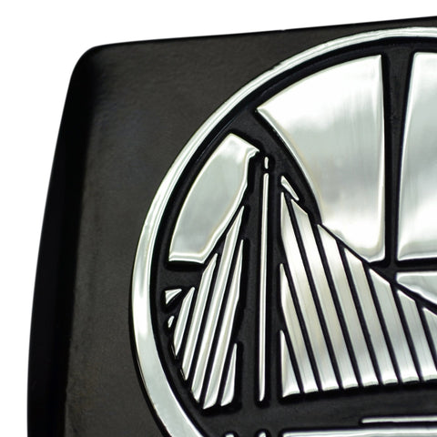 Miami Heat Chrome Hitch Cover - Black 3.4