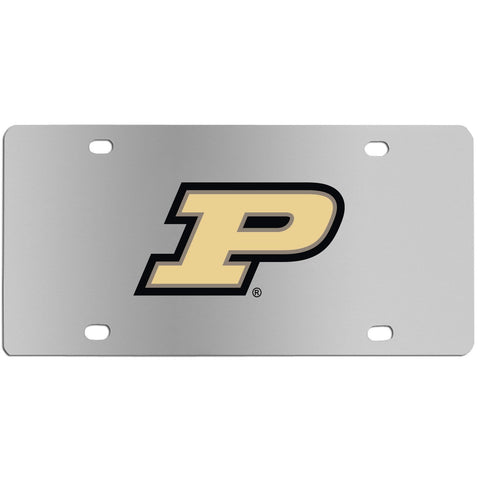Purdue Boilermakers Steel License Plate Wall Plaque