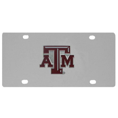 Texas A & M Aggies Steel License Plate