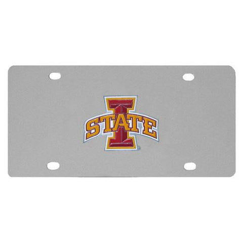 Iowa St. Cyclones Steel License Plate