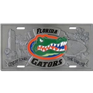 Florida Gators Collector's License Plate