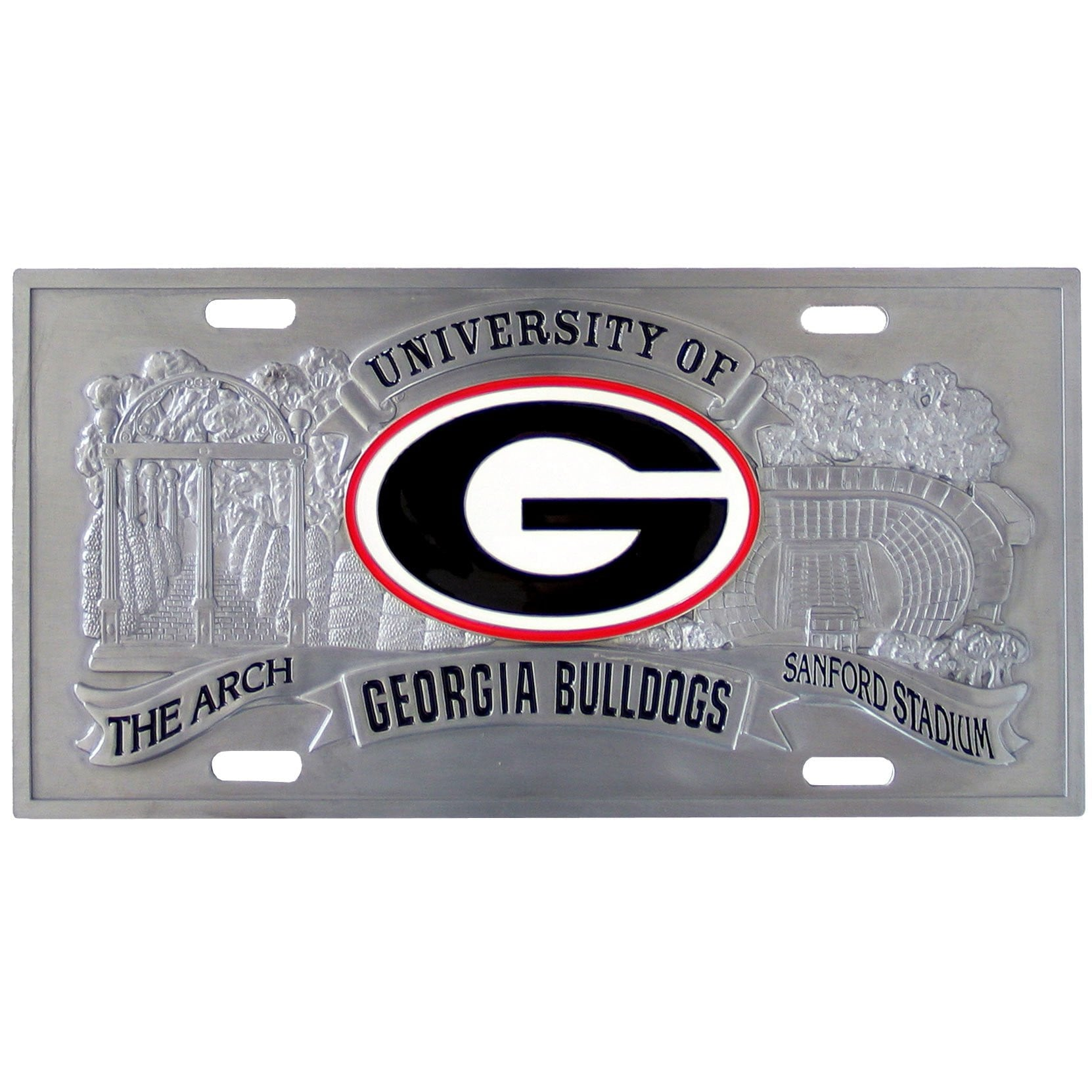 Georgia Bulldogs Collector's License Plate