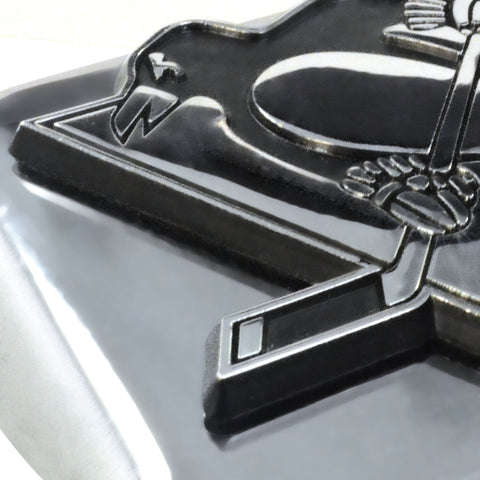 Pittsburgh Penguins Chrome Hitch Cover 3.4