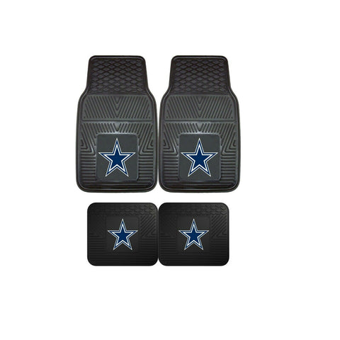 Dallas Cowboys NFL 4pc Car Mats
