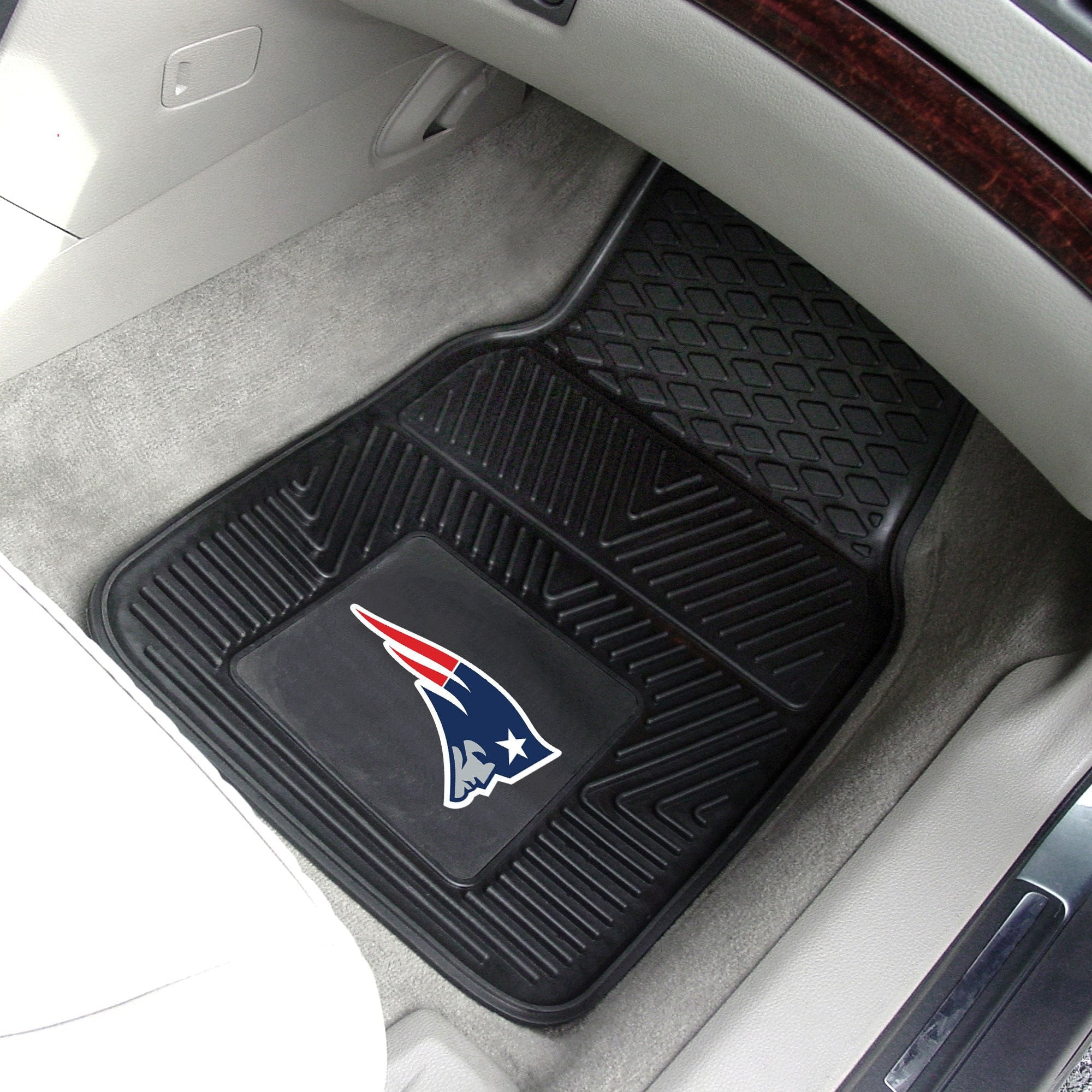 NFL - New England Patriots 2-pc Front Vinyl Car Mats