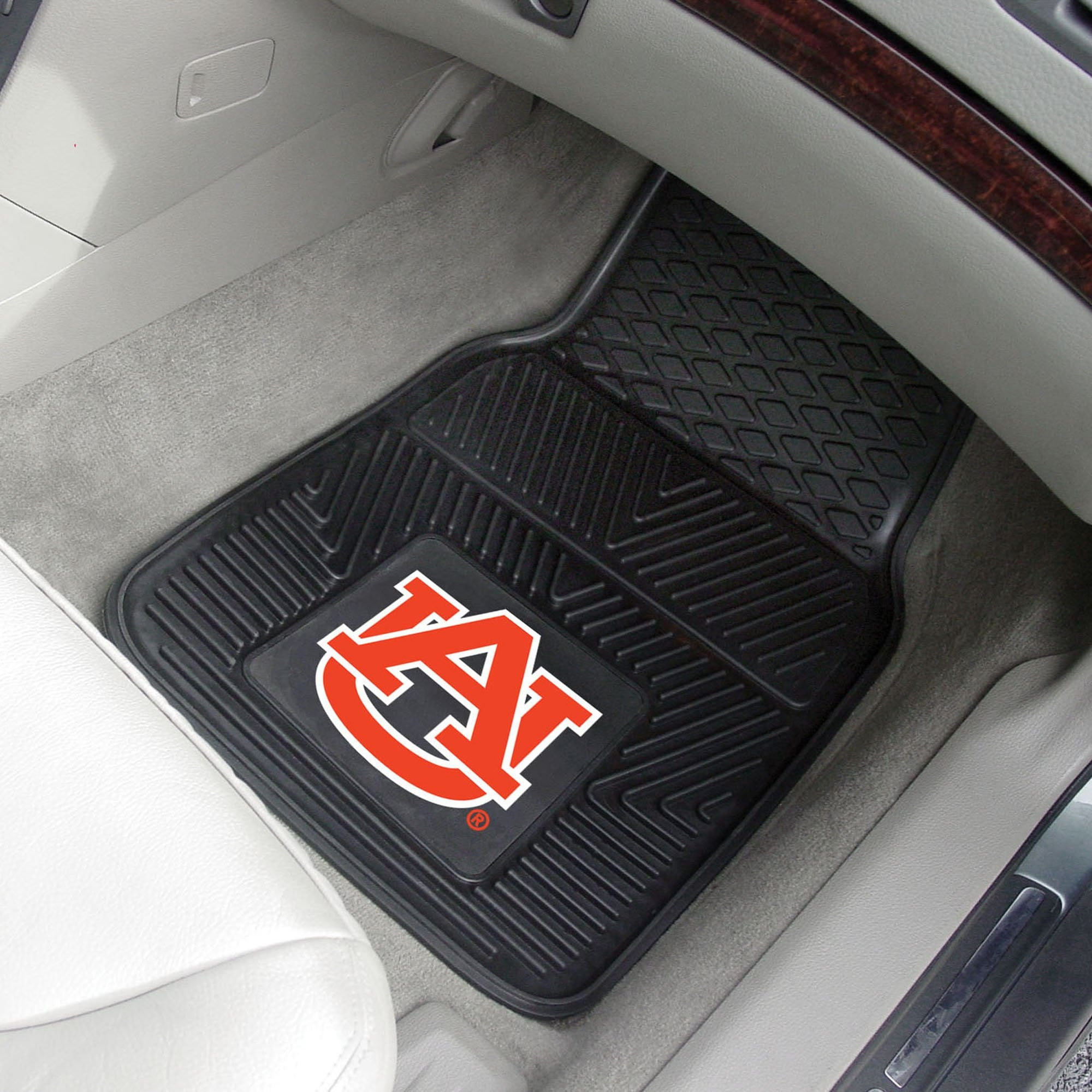Auburn Tigers 2-pc Front Vinyl Car Mats