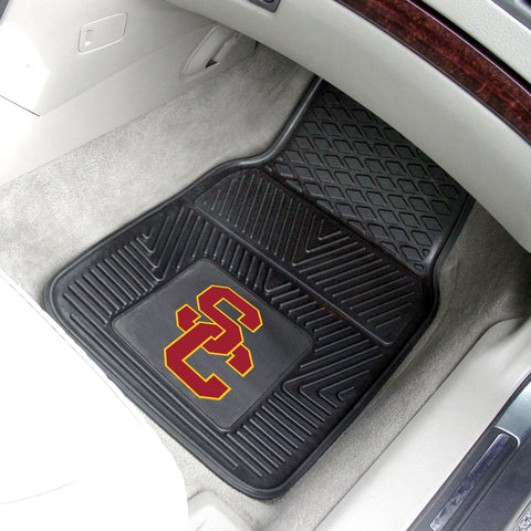 University of Southern California 2-pc Front Vinyl Car Mats
