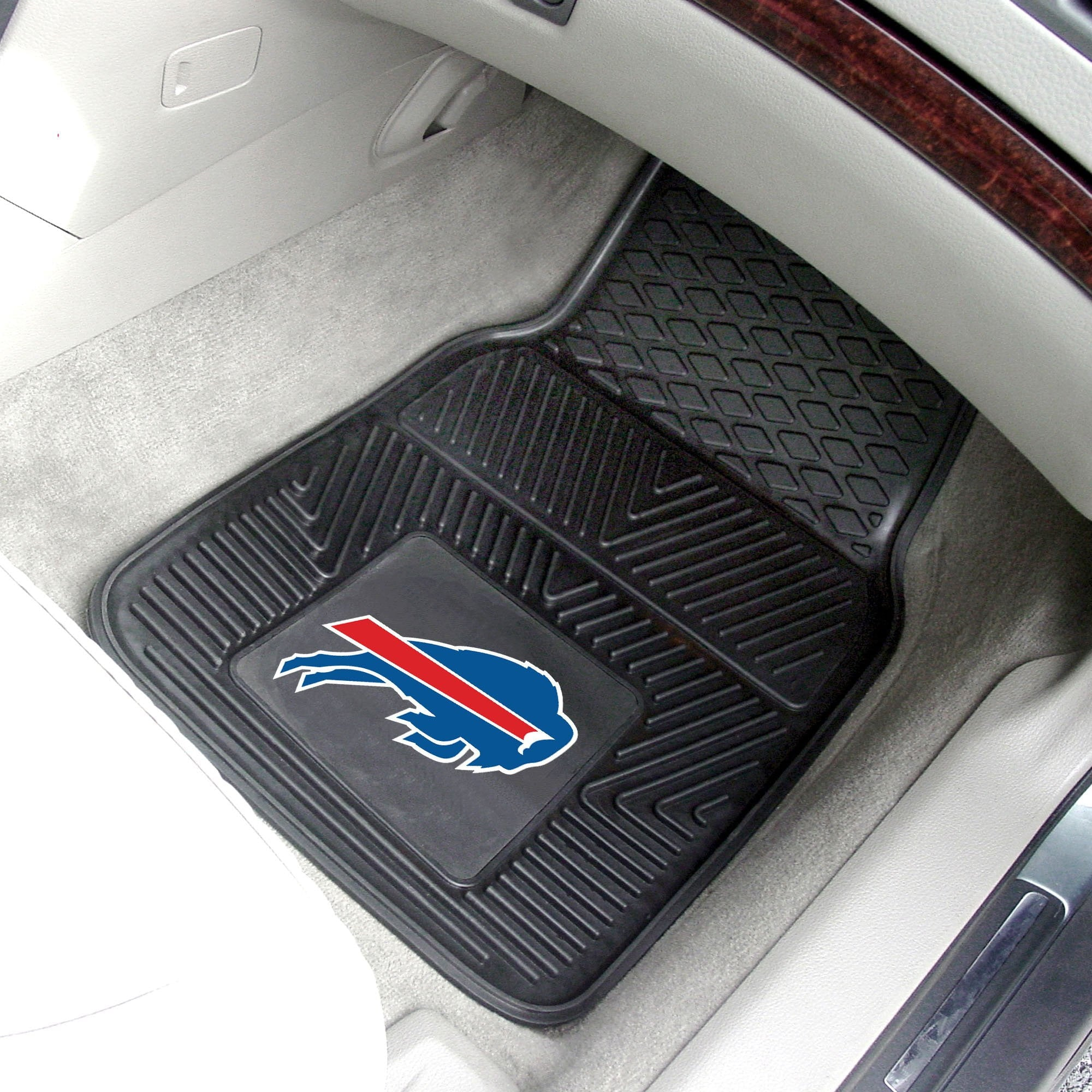 NFL - Buffalo Bills 2-pc Front Vinyl Car Mats