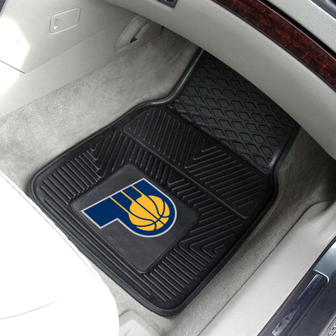 NBA - Indiana Pacers 2-pc Front Front Vinyl Car Mats