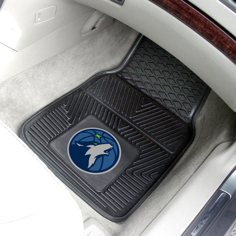 NBA - Minnesota Timberwolves 2-pc Front Front Vinyl Car Mats