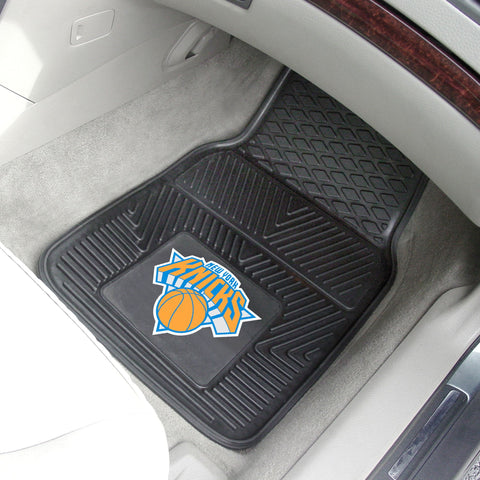 NBA - New York Knicks 2-pc Front Front Vinyl Car Mats