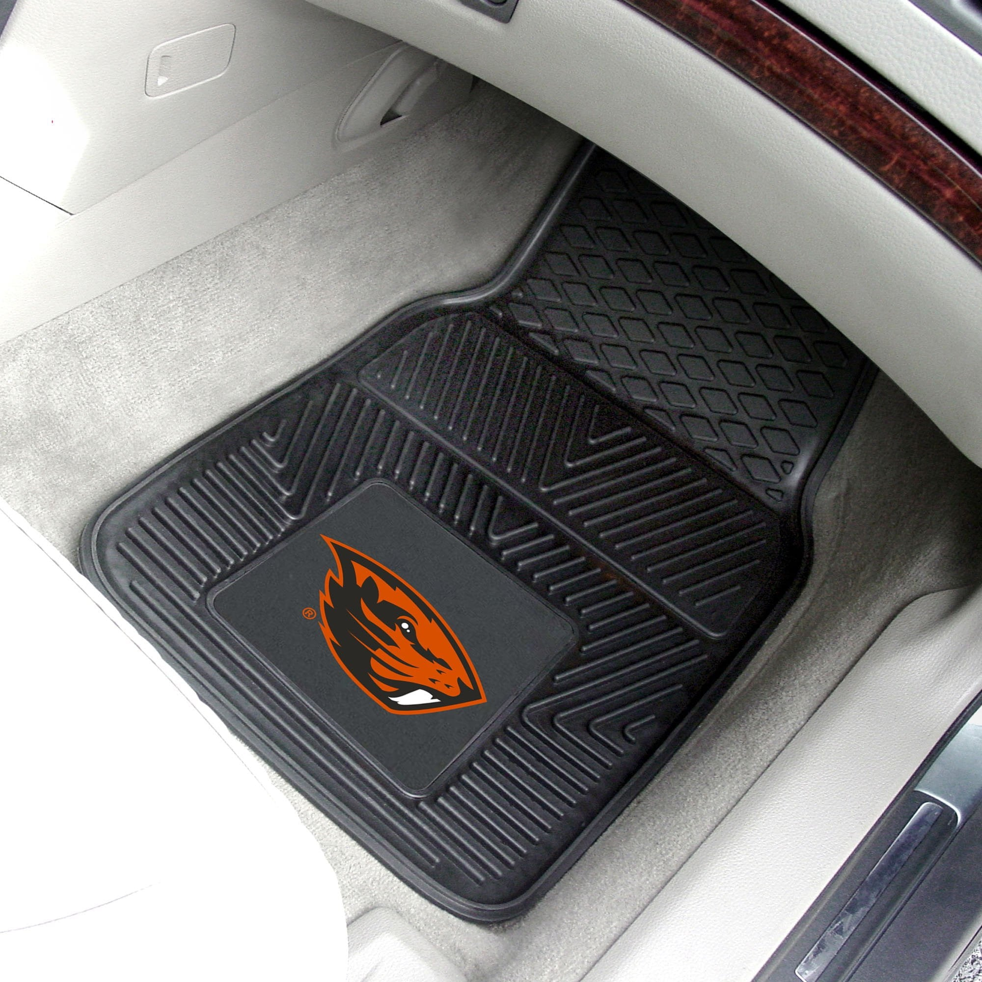 Oregon State University 2-pc Front Vinyl Car Mats