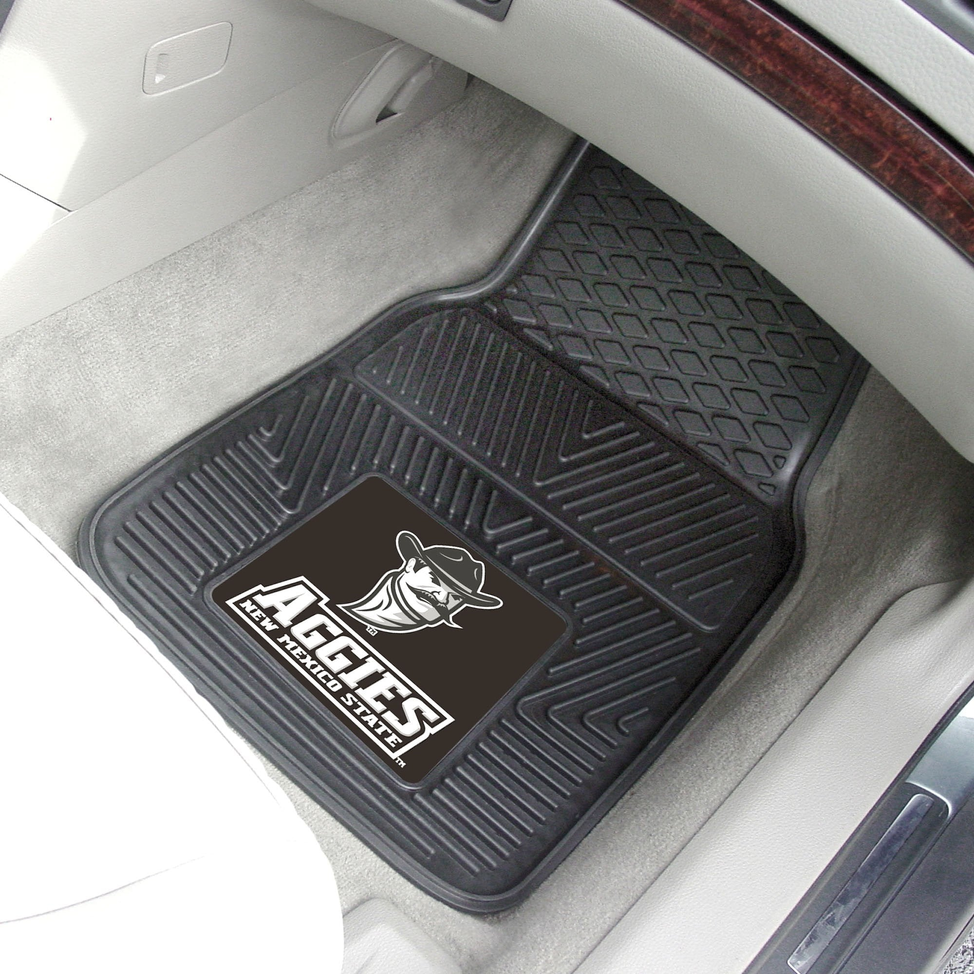 New Mexico State University 2-pc Front Vinyl Car Mats