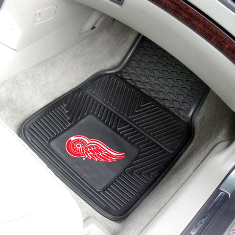 NHL - Detroit Red Wings 2-pc Front Front Vinyl Car Mats