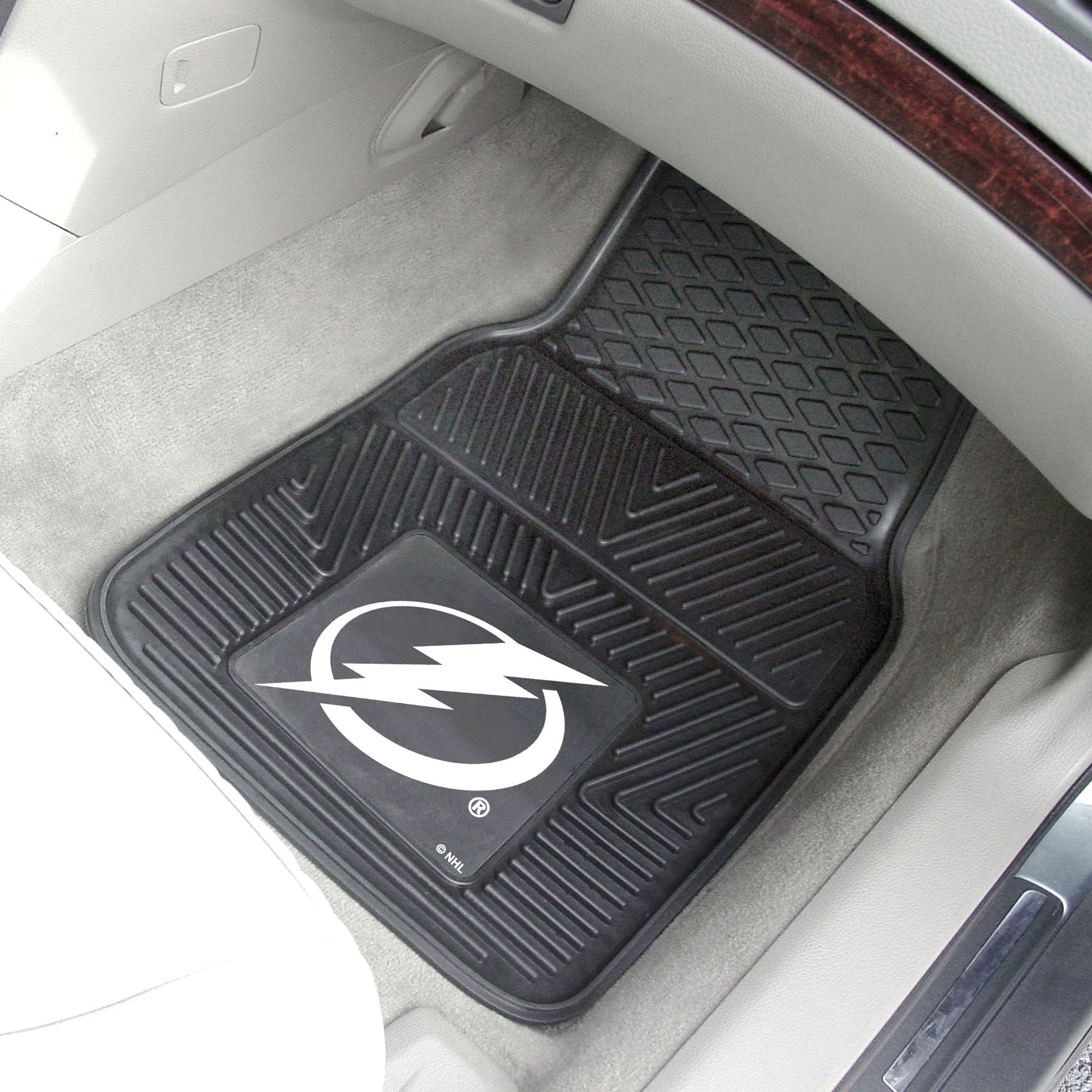 NHL - Tampa Bay Lightning 2-pc Front Front Vinyl Car Mats