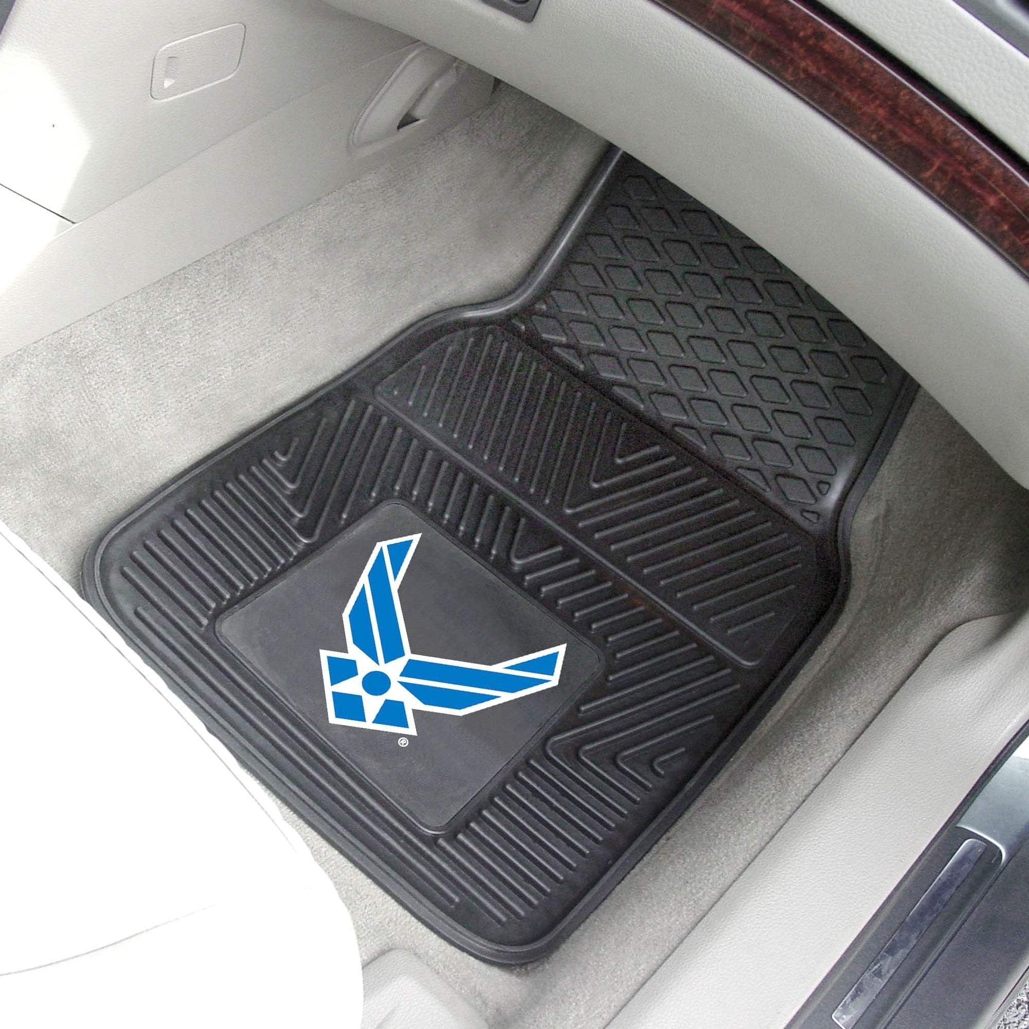 U.S. Air Force 2-pc Front Vinyl Car Mats