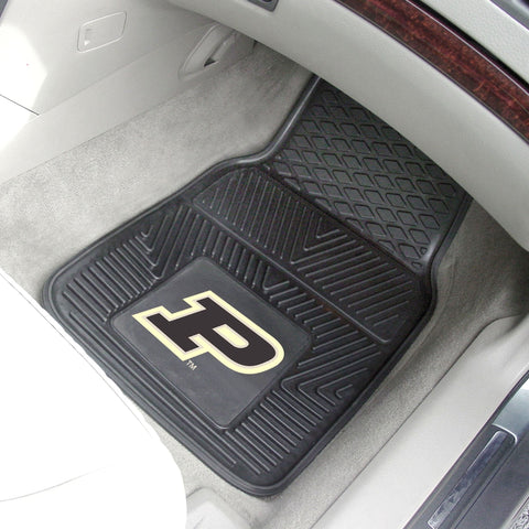 Purdue Boilermakers 2-pc Front Vinyl Car Mats