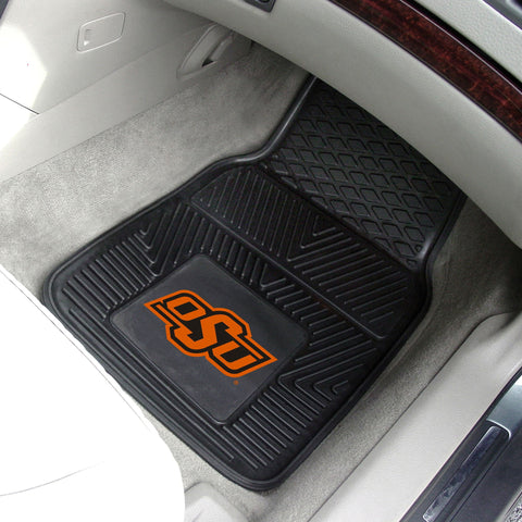 Oklahoma State University 2-pc Front Vinyl Car Mats