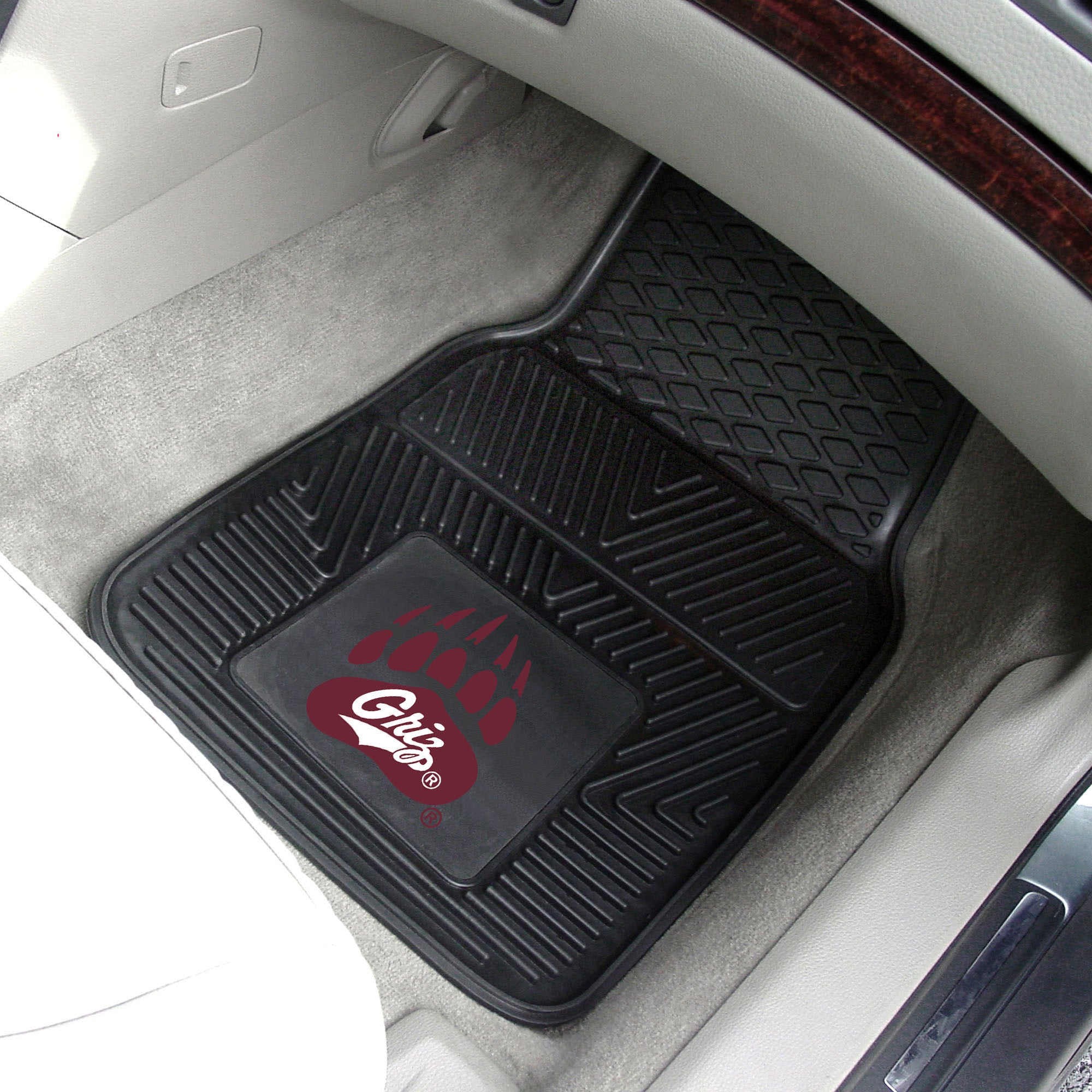 University of Montana 2-pc Front Vinyl Car Mats