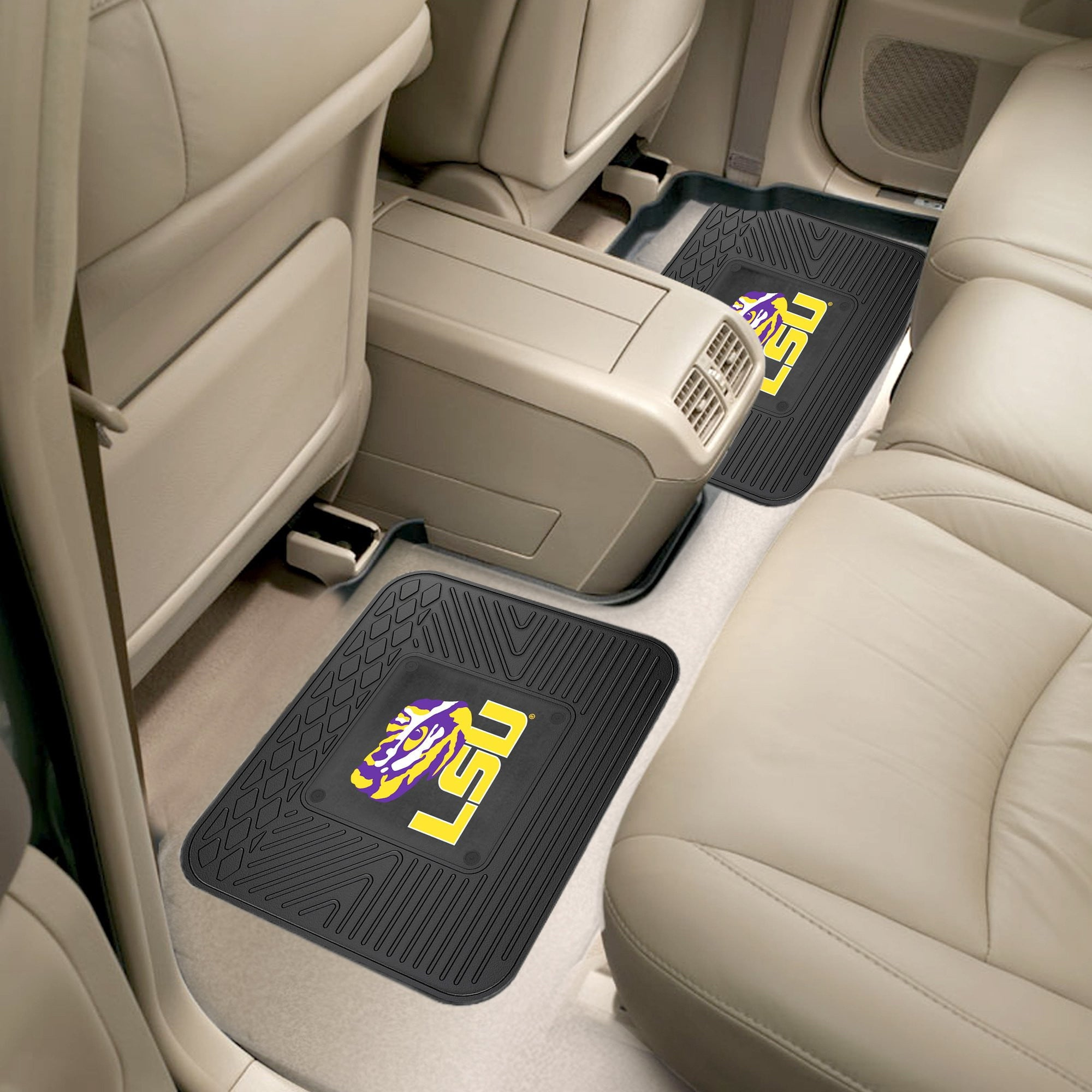 Louisiana State University 2 Utility Car Mats