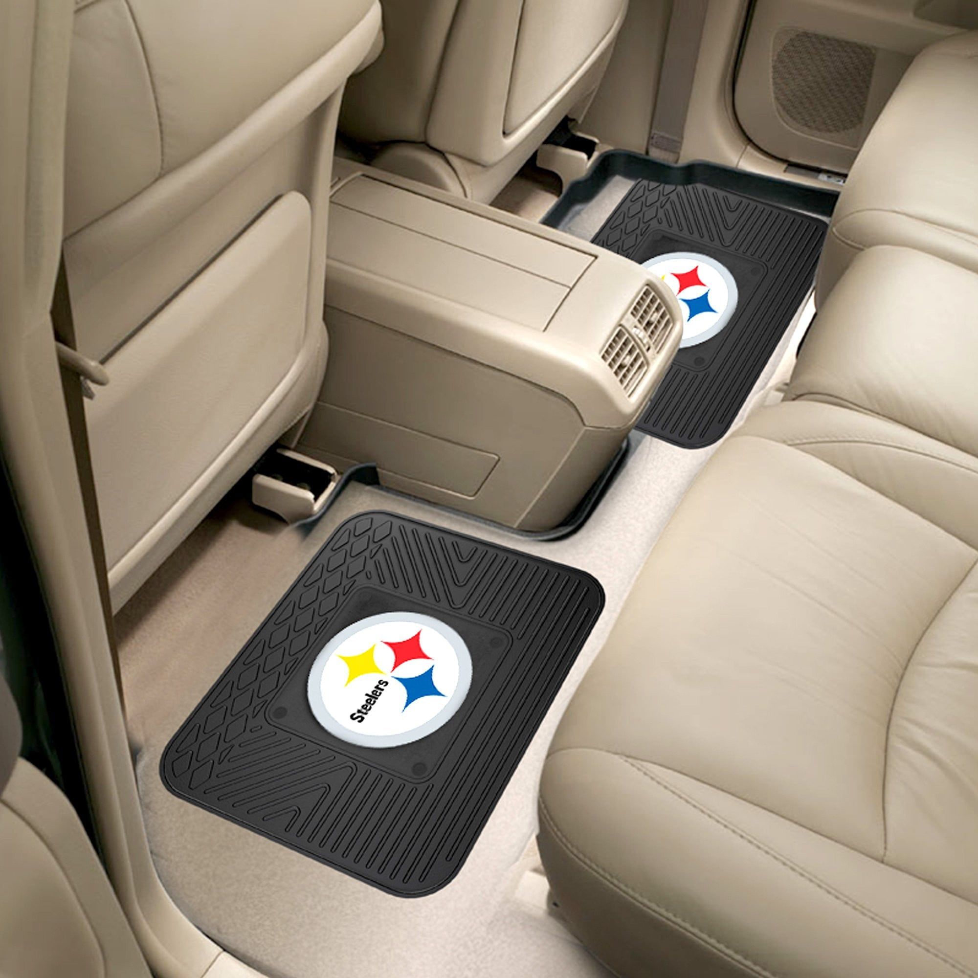 NFL - Pittsburgh Steelers 2 Utility Car Mats
