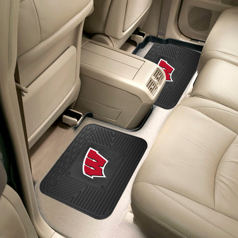 University of Wisconsin 2 Utility Car Mats