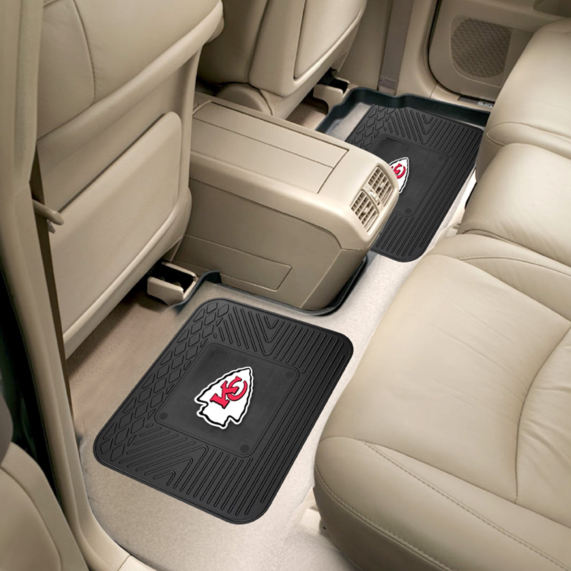 NFL - Kansas City Chiefs 2 Utility Car Mats
