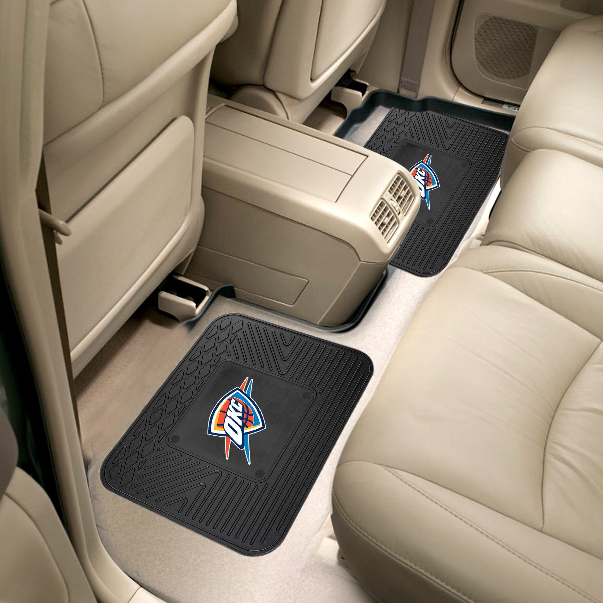 NBA - Oklahoma City Thunder 2 Utility Car Mats