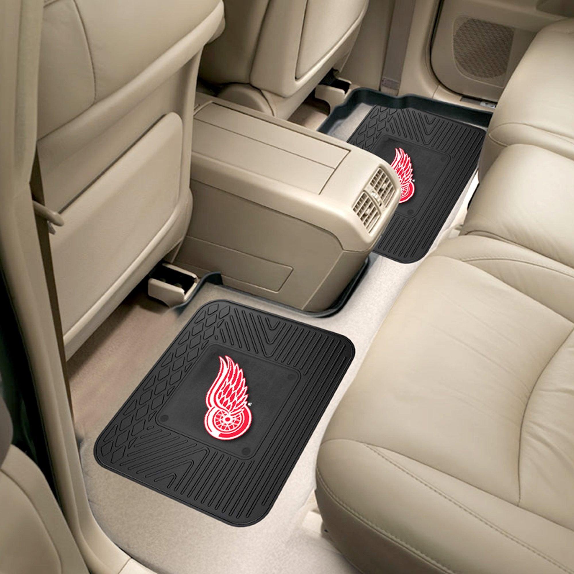 NHL - Detroit Red Wings 2 Utility Car Mats
