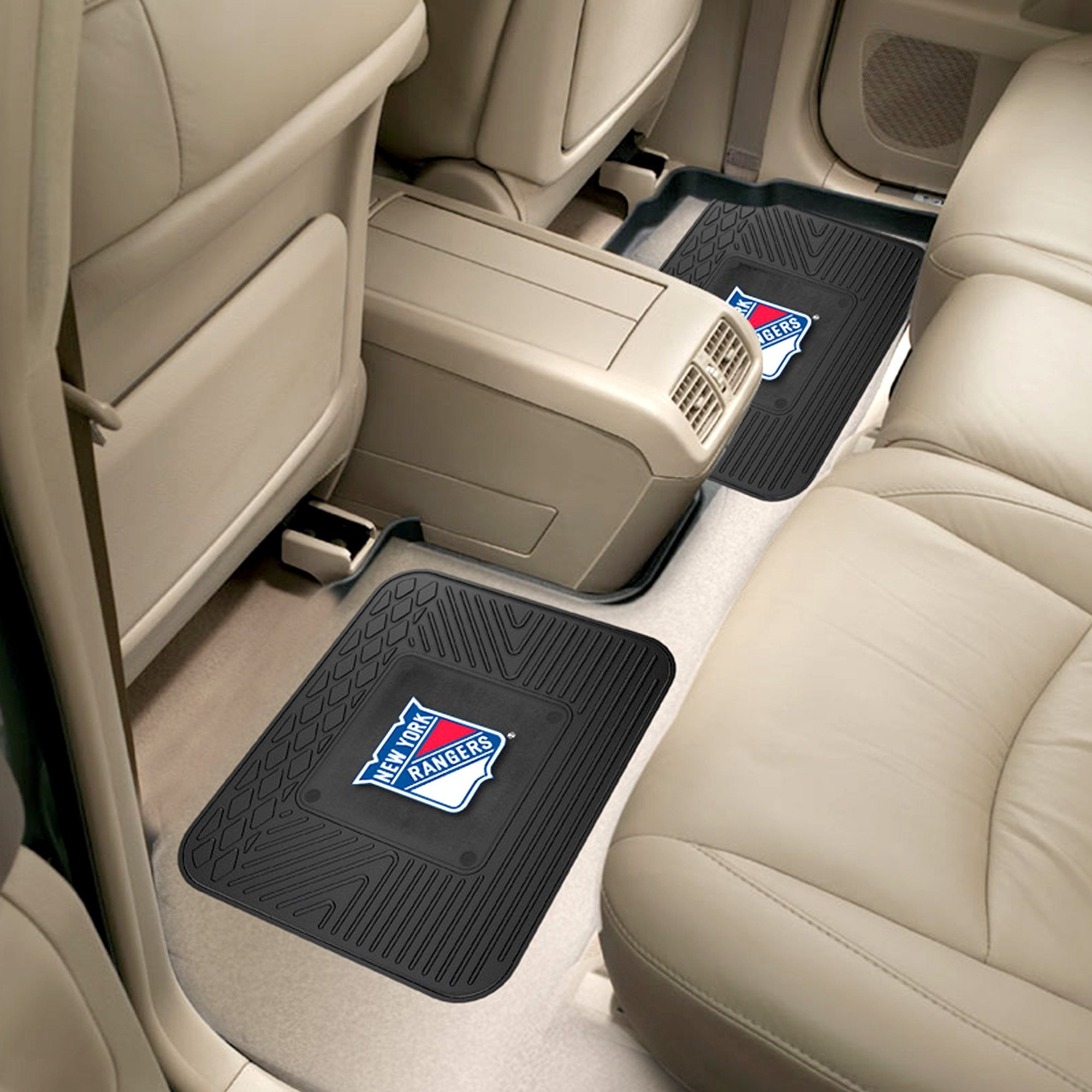 NHL - New York Rangers 2 Utility Car Mats