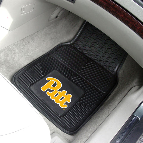 University of Pittsburgh 2-pc Front Vinyl Car Mats