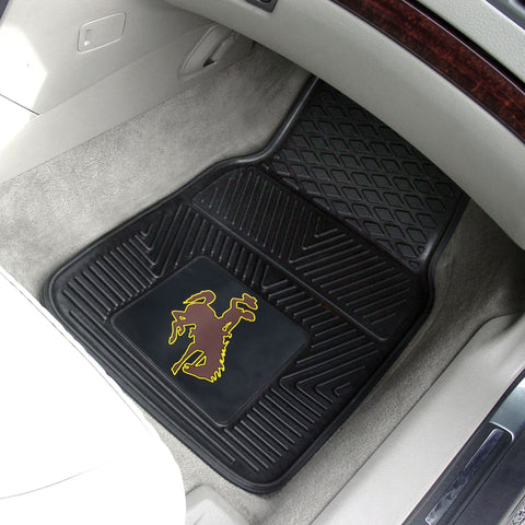 University of Wyoming 2-pc Front Vinyl Car Mats
