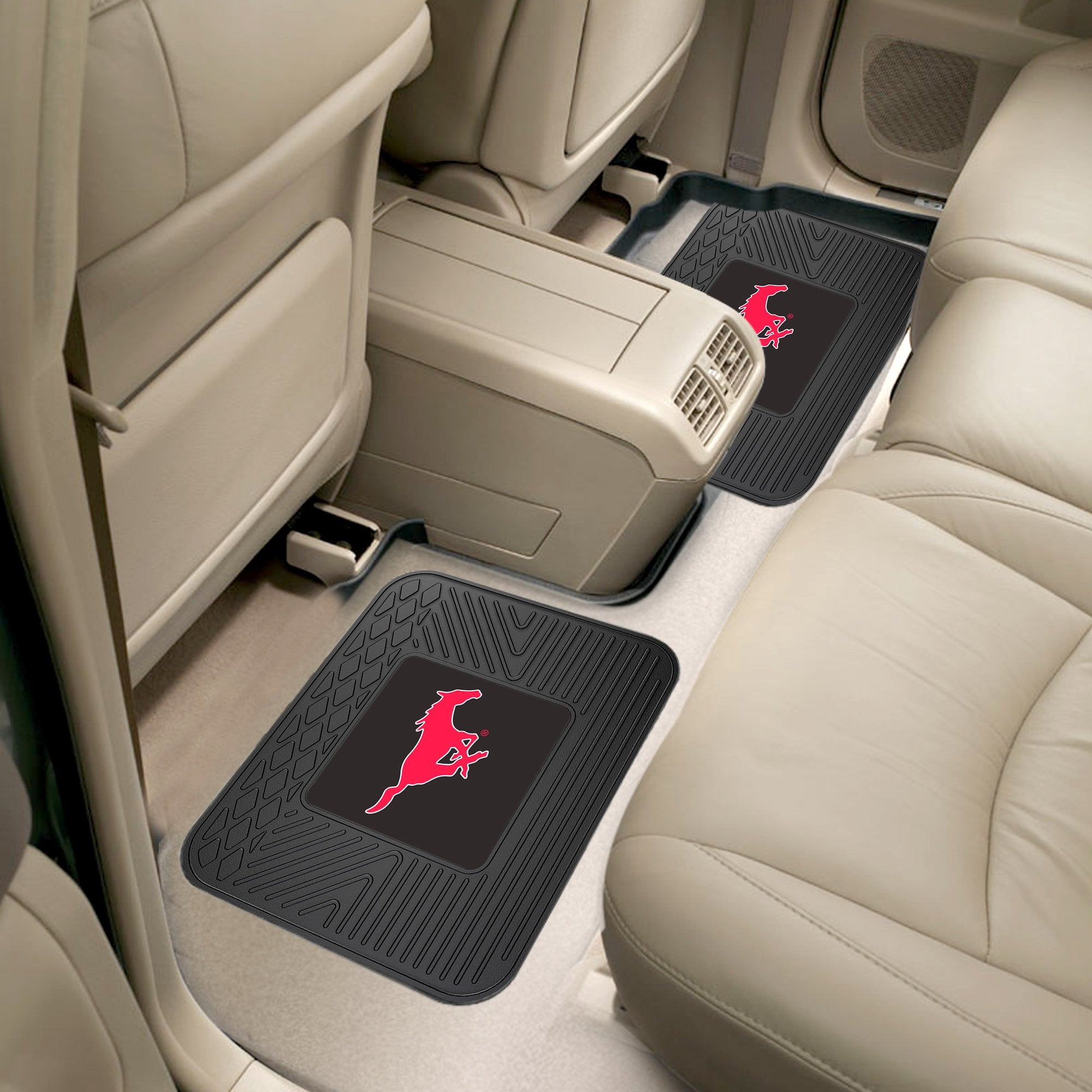 Southern Methodist University 2 Utility Car Mats