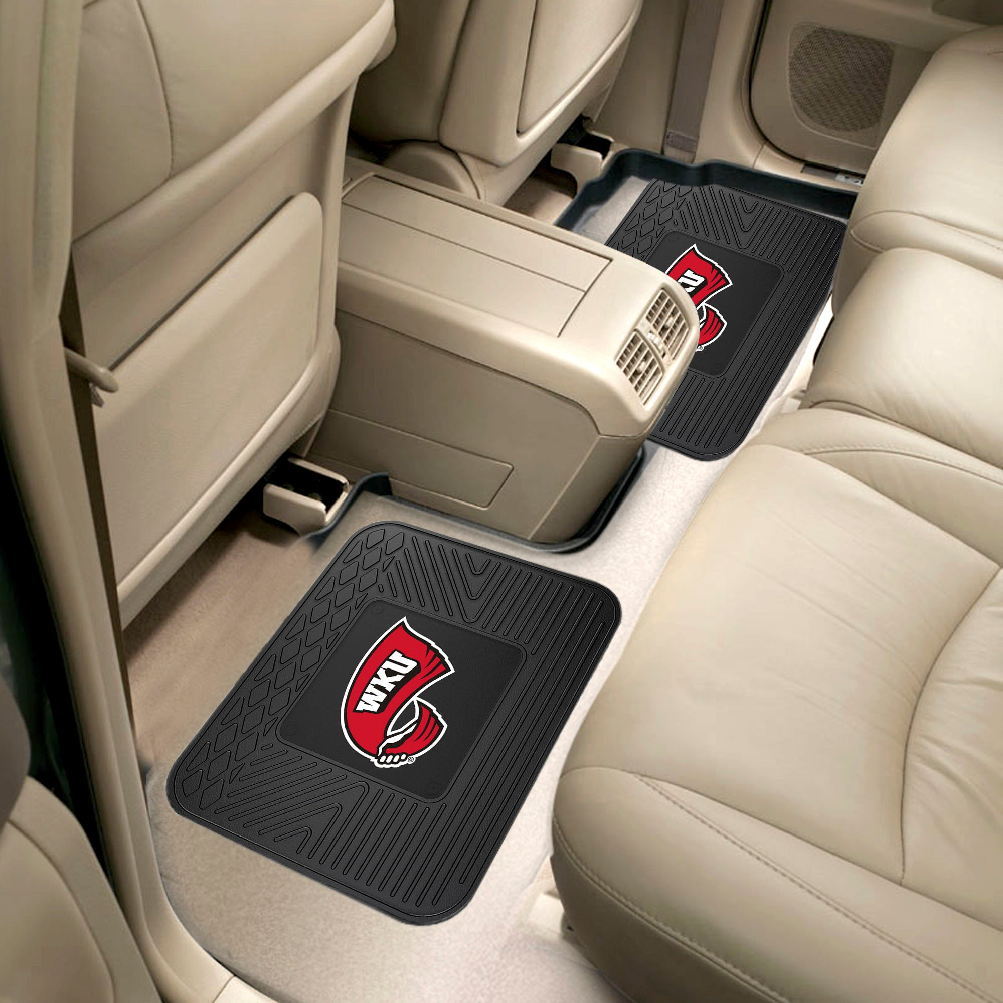 Western Kentucky University 2 Utility Car Mats