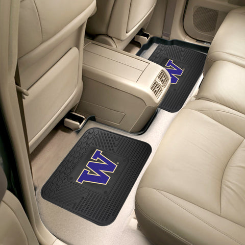 University of Washington 2 Utility Car Mats