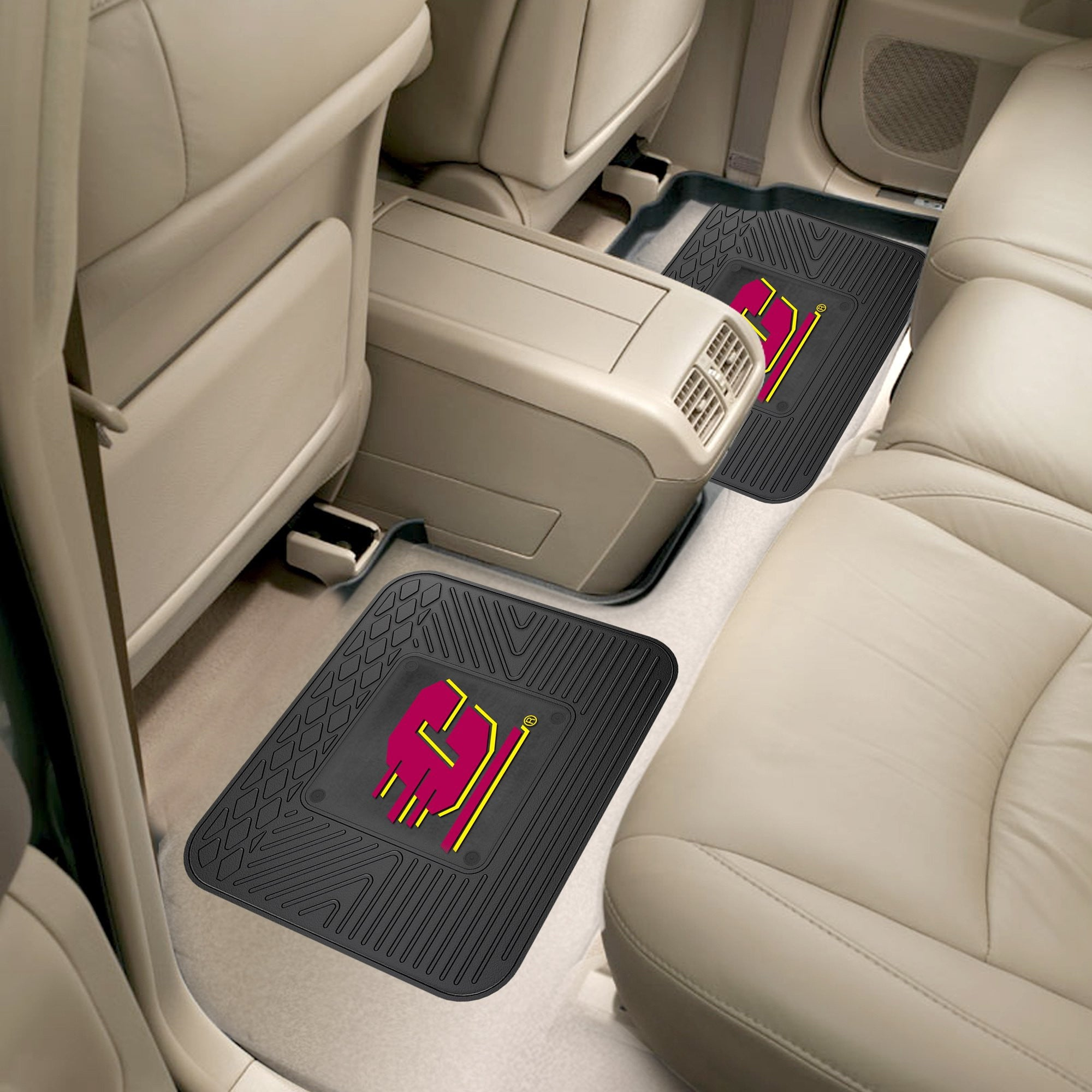 Central Michigan Chippewas 2 Utility Car Mats