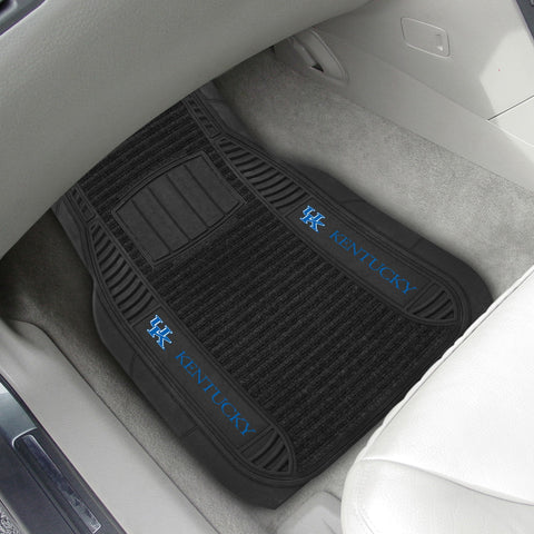 Kentucky Wildcats 2-pc Front (Vinyl/Carpet) Car Mat Set 21