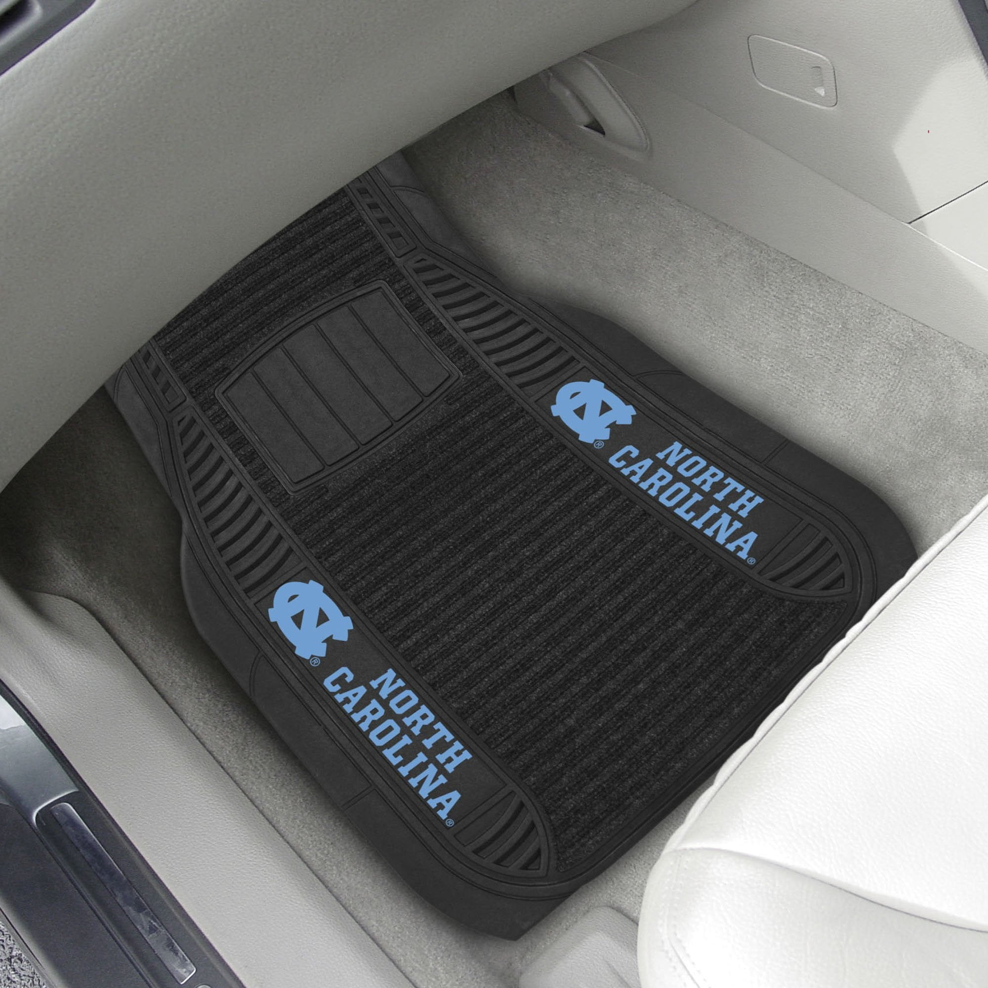 North Carolina 2-pc Front (Vinyl/Carpet) Car Mat Set 21