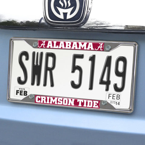 Alabama Crimson Tide License Plate Frames