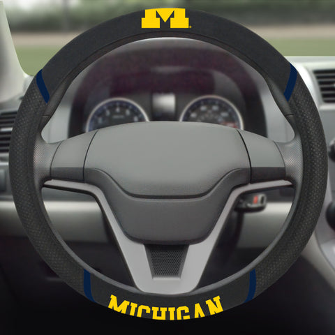 University of Michigan Steering Wheel Cover 15