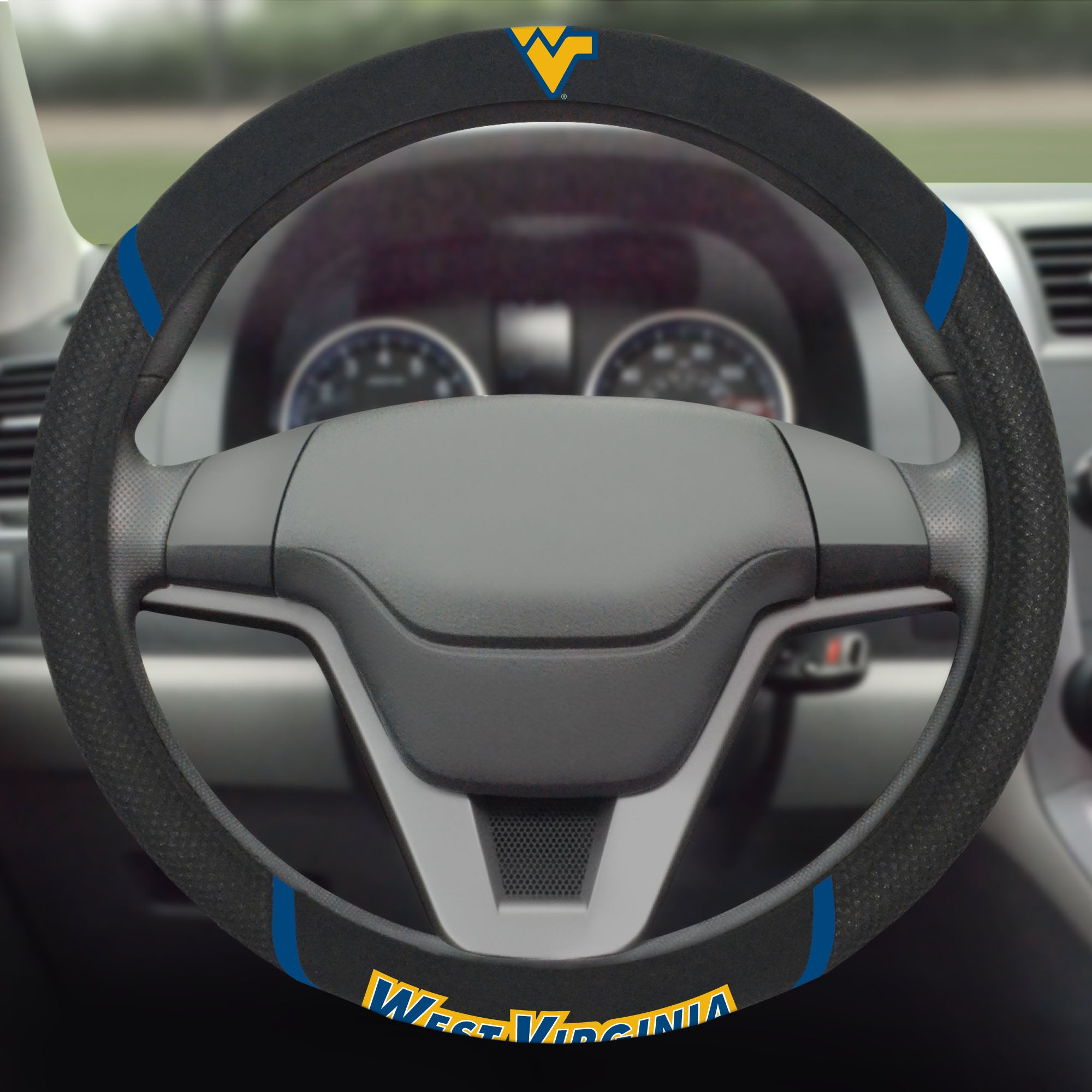 West Virginia University Steering Wheel Cover 15