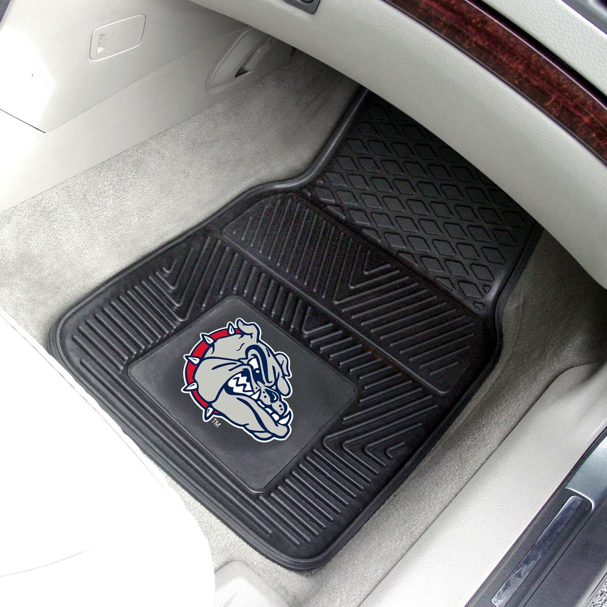 Gonzaga University 2-pc Front Vinyl Car Mats