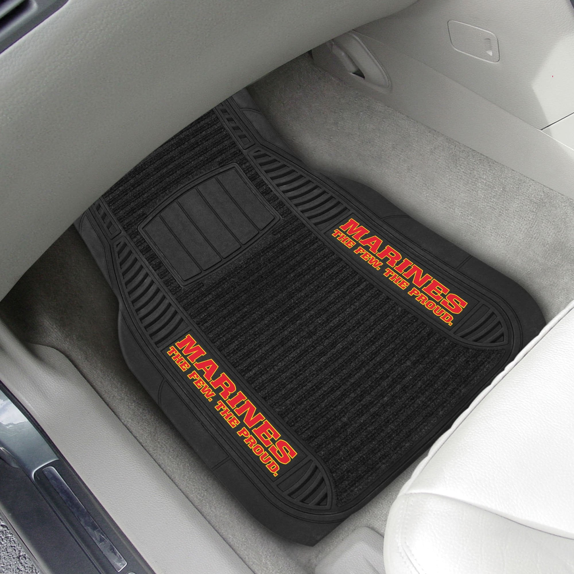U.S. Marines 2-pc Front (Vinyl/Carpet) Car Mat Set 21