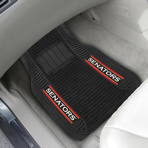 Ottawa Senators 2-pc Front (Vinyl/Carpet) Car Mat Set 21