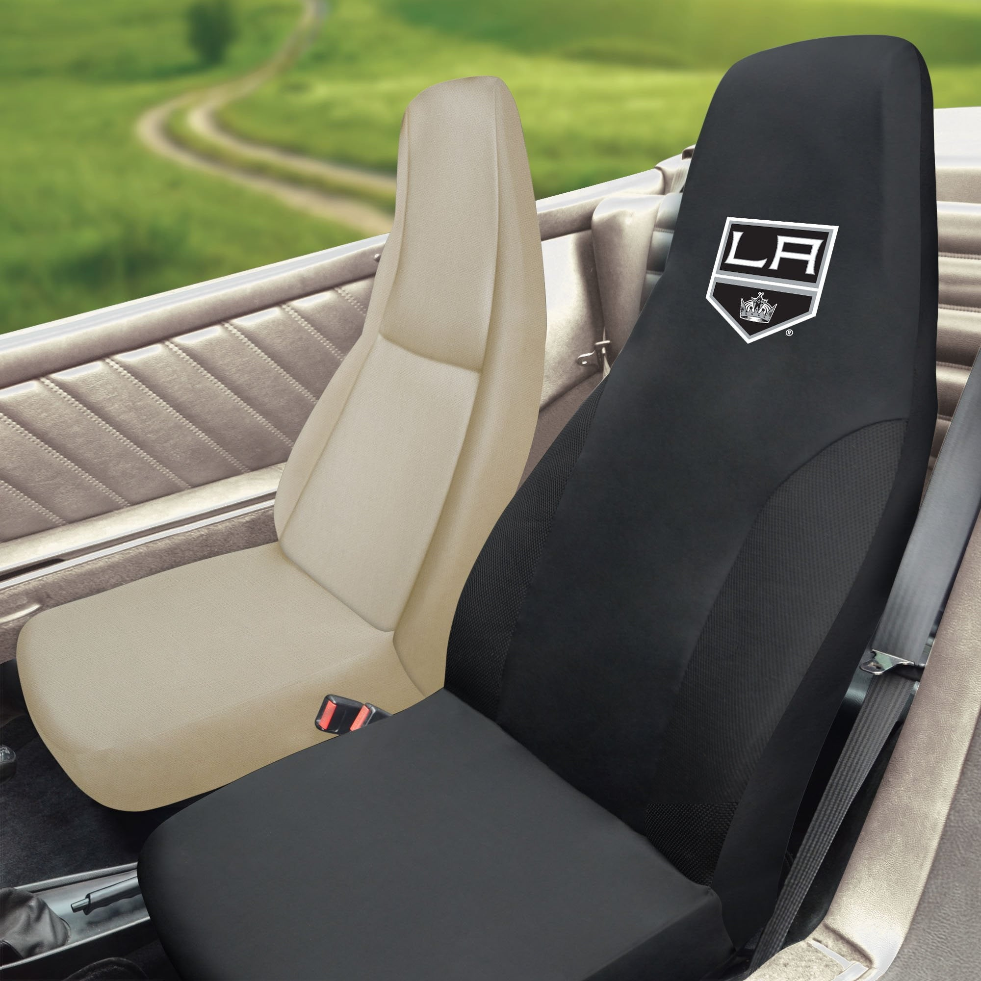 NHL - Los Angeles Kings Set of 2 Car Seat Covers