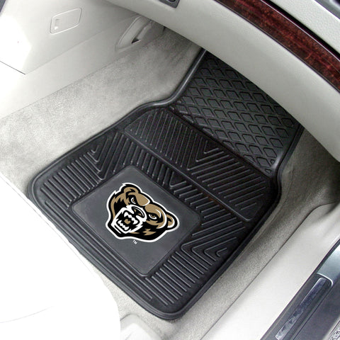 Oakland University 2-pc Front Vinyl Car Mats