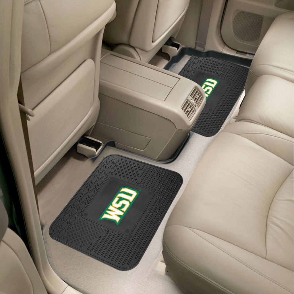 Wright State University 2 Utility Car Mats - Team Auto Mats