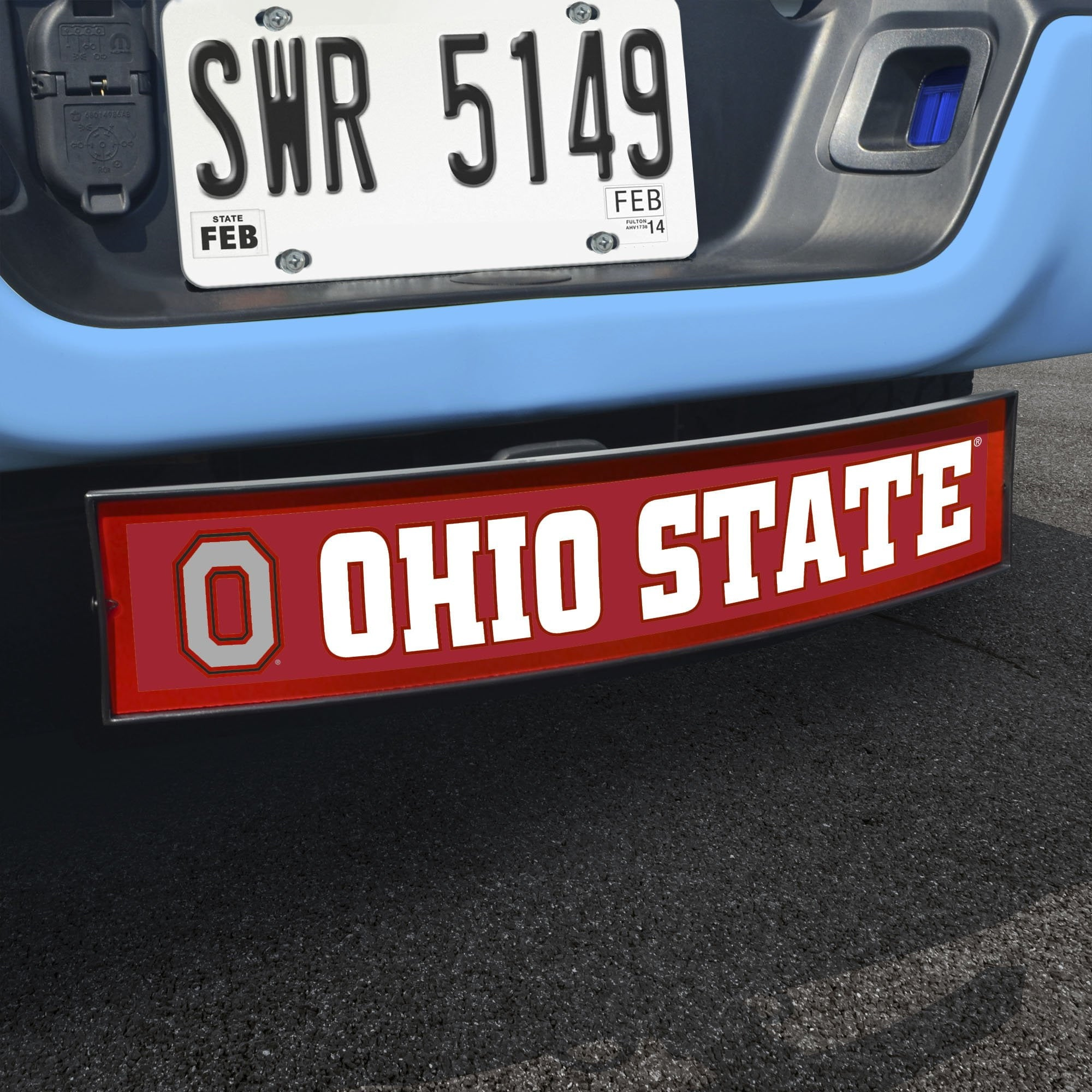 Ohio State Buckeyes Light Up Hitch Cover 21