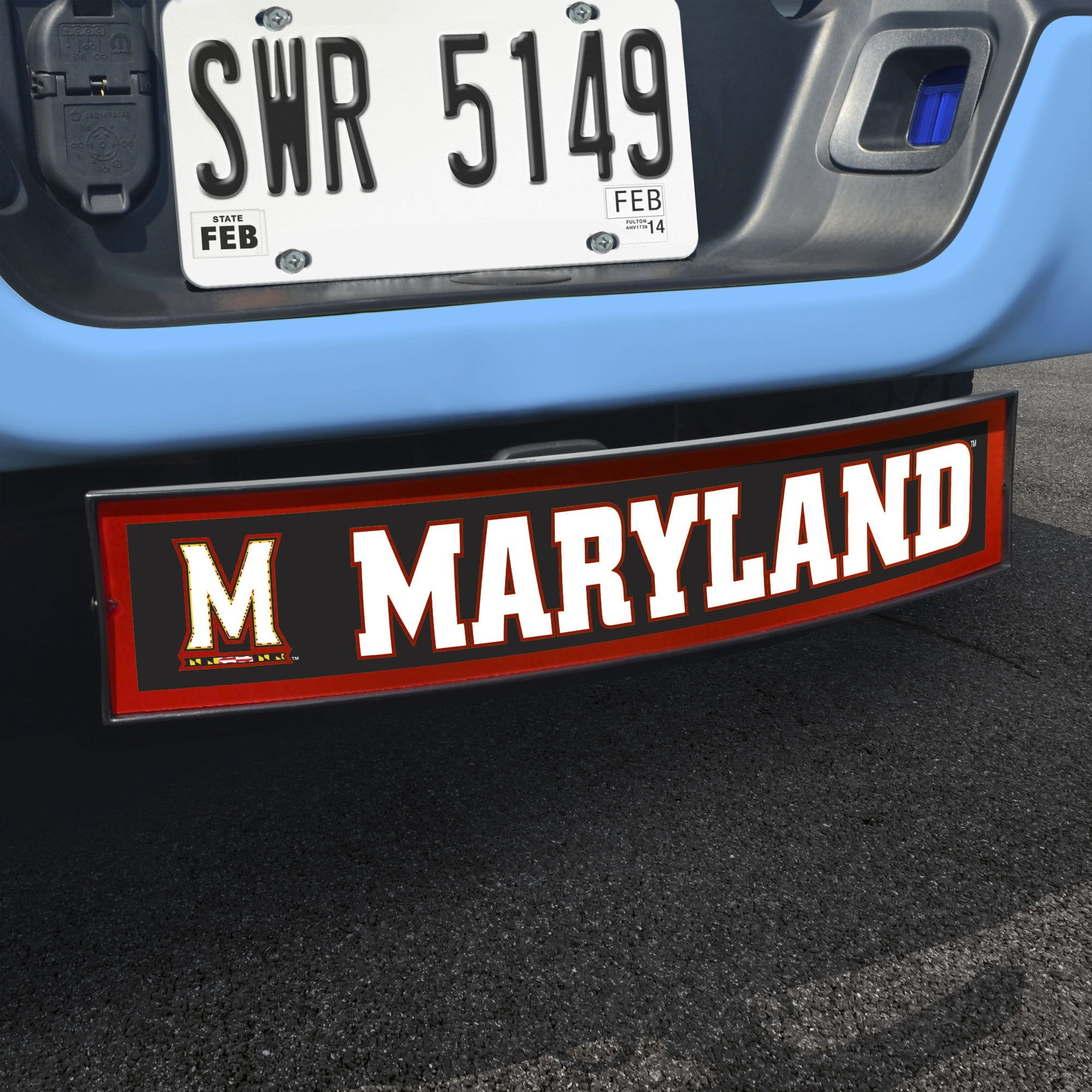 Maryland Terrapins Light Up Hitch Cover 21